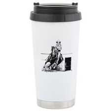 Rodeo Cowgirl Travel Mug