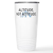 Altitude Not Attitude Thermos Mug