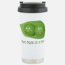 PEAS IN A POD Stainless Steel Travel Mug