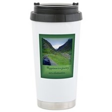HAPPINESS IS A JOURNEY... Travel Mug