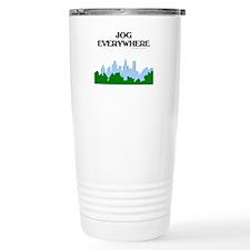 Jog Everywhere City Travel Mug