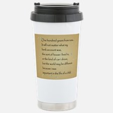 ONE HUNDRED YEARS Travel Mug