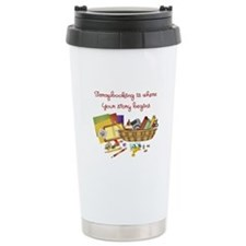 Scrapbooking Travel Mug