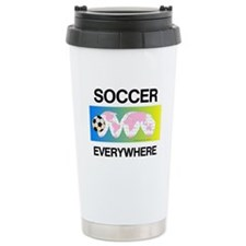 Soccer Everywhere Travel Mug