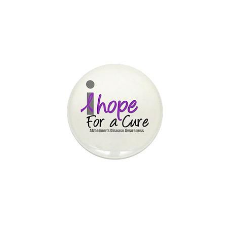 Alzheimer's Hope Mini Button