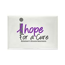 Alzheimer's Hope Rectangle Magnet