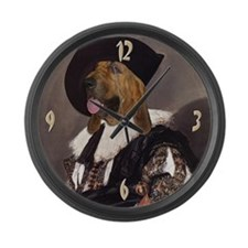 Bloodhound CAVALIER Large Wall Clock