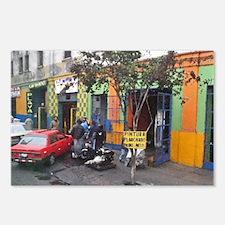 Cute Lotus orange car men Postcards (Package of 8)