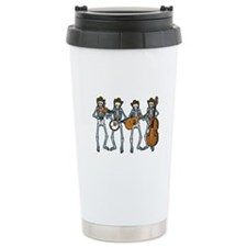 Cowboy Music Skeletons Travel Mug