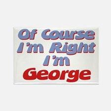 George Is Right Rectangle Magnet