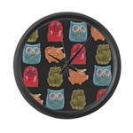 Retro Vintage Toy Large Wall Clock