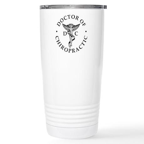Chiropractor Logo Stainless Steel Travel Mug