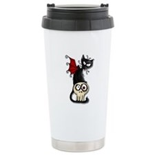 Voodoodle - Fang Kitty Travel Mug
