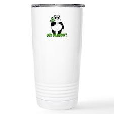 got bamboo? Travel Mug