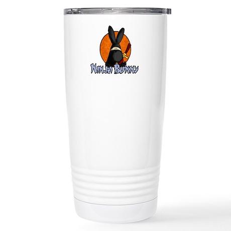 Ninja Bunny Stainless Steel Travel Mug
