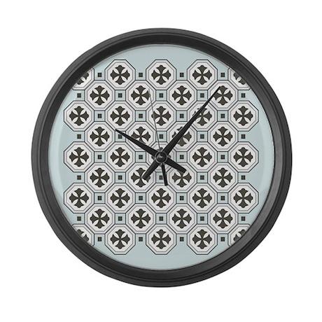 Japanese Style Pattern Art Large Wall Clock