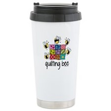 Quilting Bee Travel Coffee Mug