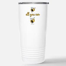 B all you can B Travel Mug