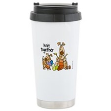 Knit together II Travel Mug