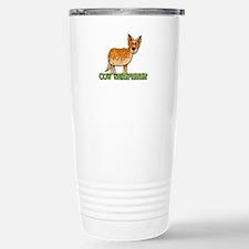 cow whisperer Stainless Steel Travel Mug