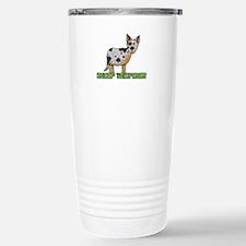 sheep whisperer Stainless Steel Travel Mug