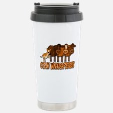 cow whisperer red heeler Travel Mug
