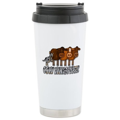 cow whisperer blue heeler Stainless Steel Travel M