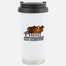 cow whisperer blue heeler Travel Mug