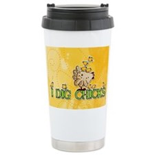 I dig chicks Travel Mug
