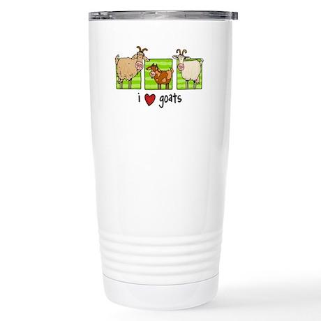 3 goats Stainless Steel Travel Mug