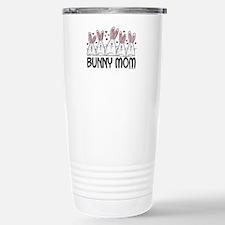 Bunny Mom II Stainless Steel Travel Mug
