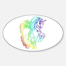 Rainbow Unicorn Decal