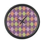 Vintage Argyll Large Wall Clock