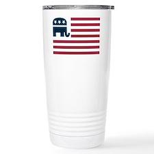 GOP Flag Travel Mug