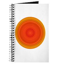 Orange Swirl Journal
