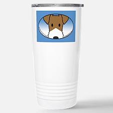 Anime Wire Fox Terrier Stainless Steel Travel Mug
