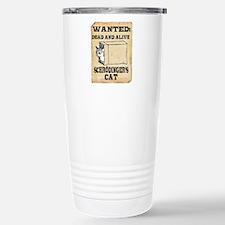 Schroedinger's Cat Stainless Steel Travel Mug