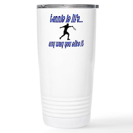 Tennis Slice Stainless Steel Travel Mug