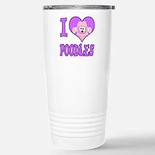 I Heart Love Poodles Cute Goofkins Animal Design C