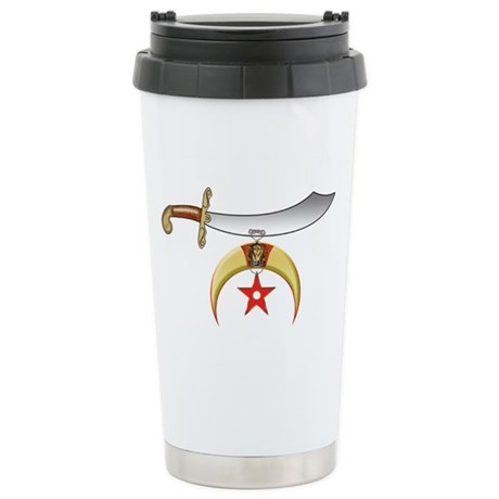 Shriners Stainless Steel Travel Mug