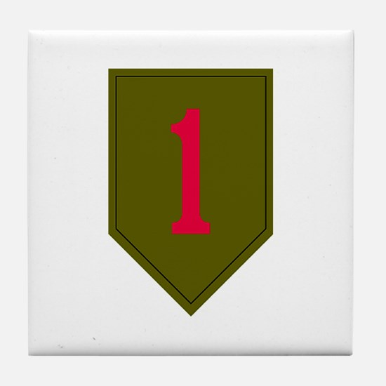 1st Infantry Tile Coaster