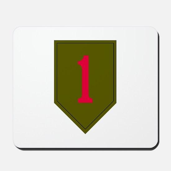 1st Infantry Mousepad