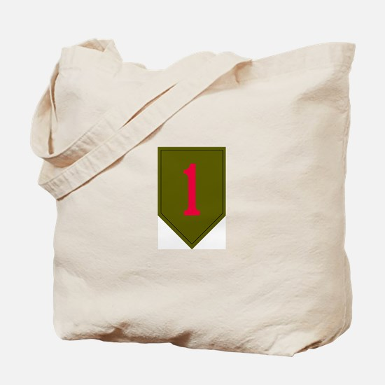 1st Infantry Tote Bag