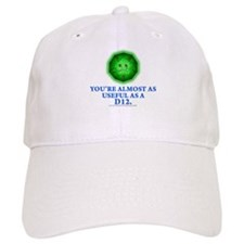 Useful as a a D12 (Green) Baseball Cap