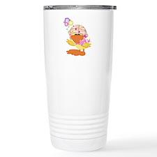 Cute Baby Girl Ducky Duck Travel Mug