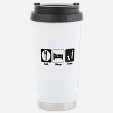 Eat. Sleep. Train. (Dog Train Travel Mug