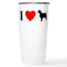 I Heart Welsh Springer Spaniel Travel Mug