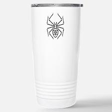 Tribal Spider Design Stainless Steel Travel Mug
