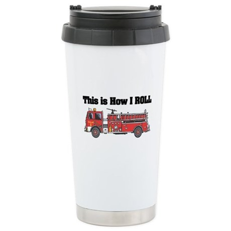 How I Roll (Fire Engine/Truck Stainless Steel Trav