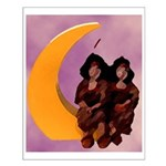 2 NDN Girls Small Poster